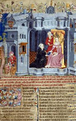 English MS 1 John Lydgate The Siege of Troy