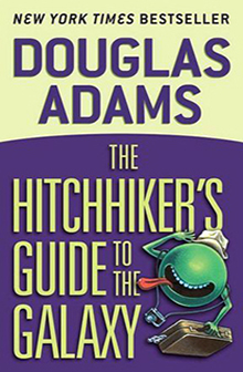 Douglas Adams Hitchhikers Guide to the Galaxy