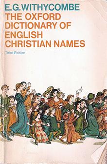 Oxford Dictionary English Names