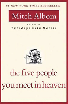 Five People You Meet in Heaven by Mitch Albin