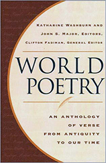 World Poetry Anthology Katherine Washburn John Major Clifton Fadiman